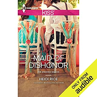Maid of Dishonor audiobook cover art
