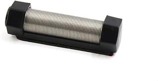 sourcingmap® Schwarz Metall Spule Tragbar Auto Feder Fahrkarte Clip Schraube Kappe Halter de