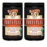 Barlean's Forti-Flax, Ground Flaxseed, 16 Ounces (2 Pack)