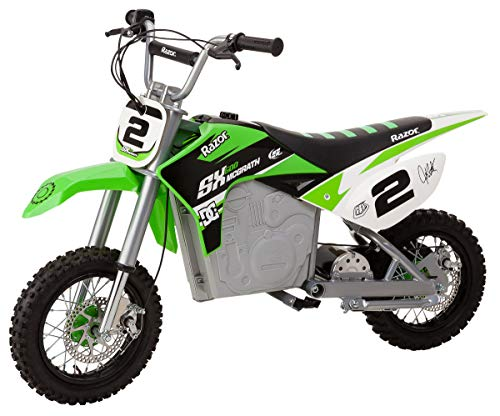 powerful Electric Motocross Razer Dirt Missile SX500 McGrath