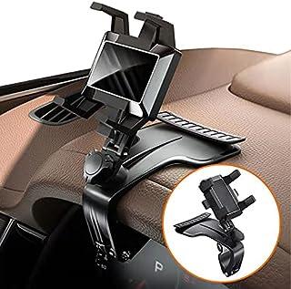 پایه تلفن تلفن Amliywave- نگهدارنده تلفن چرخشی 1200 درجه برای ماشین- نگهدارنده تلفن چند منظوره اتومبیل ، نگهدارنده تلفن داشبورد ، مناسب برای گوشی های هوشمند 3 تا 7 اینچی