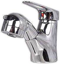 AMBEST 洗面手洗いシングルレバー洗髪シャワー混合栓蛇口 FS1263