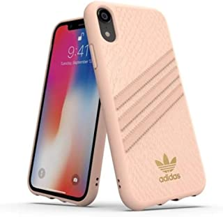 adidas OR Moulded Case PU Snake FW18 for iPhone XR, Pink