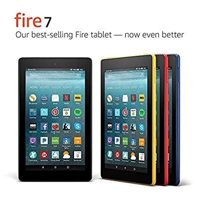 """Fire 7 Tablet (7"""" display, 16 GB) - Black - (Previous Generation - 7th) from Amazon"""