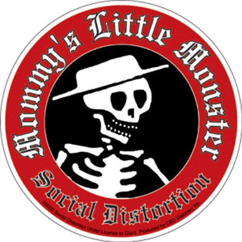 C&D Visionary Licenses Products Social Distortion Little Mon Sticker