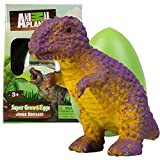 Animal Planet XL Dinosaur Egg 1 Pack - Surprise Jumbo Dino Egg Toys Hatch and Grow to 5X Size in Water - Discover 1 of 3 Different Creatures