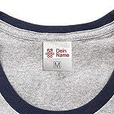 Namensaufkleber für Kleidung & Sonstiges Kinder (50 Stück) - Namensschilder waschmaschinenfest zum Aufkleben