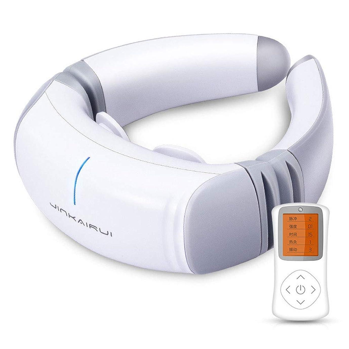 コレクション余分な突撃子宮頸子宮頸子宮頸マッサージ理学療法機器ホーム電子パルスショルダーネックピローネックマッサージャー
