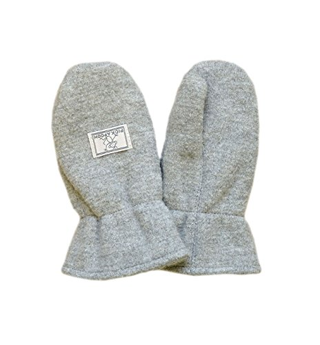 PickaPooh Jungen Handschuhe Gr. Small, hellgrau