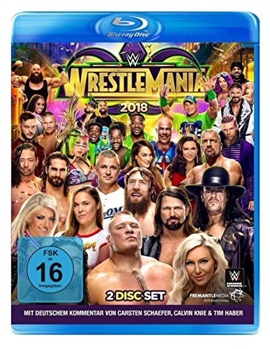 WWE: WrestleMania 34 [Blu-ray]