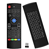Air Mouse,MX3 Pro Backlit Mini Keyboard Remote Control,Mini Wireless Keyboard & IR Learning Air Mouse Remote,Best for Raspberry Pi 4 Android Smart Tv Box HTPC IPTV PC Pad Xbox