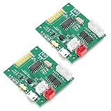 FEBT Placa amplificadora de 5 W, módulo Mini Amplificador de Audio Plug and Play de 3,7 a 5 V, para Montaje de Altavoz