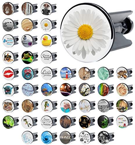 Waschbeckenstöpsel Daisy, viele schöne Waschbeckenstöpsel zur Auswahl, hochwertige Qualität ✶✶✶✶✶
