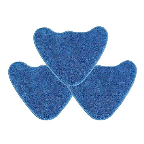 JOYKK 3Piece Total Home Care Steam Mop Pads voor stoomreiniger microvezel pad cover