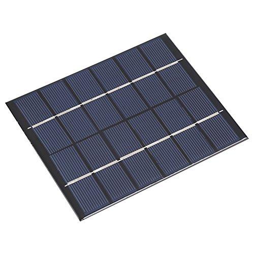 6V 2W Mini tragbare polykristalline Solarmodul Smart Power für DIY Ladegerät im Freien