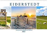 EIDERSTEDT-HIGHLIGHTS (Wandkalender 2022 DIN A2 quer): Fastzinierende Eindruecke der Halbinsel (Monatskalender, 14 Seiten )