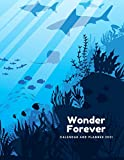 Wonder Forever: Calendar and Planner 2021, Journal, Large 8.5 x 11 inches, Planning, Physical Record, System of Organizing Days, Planned Events, Chronological List of Documents