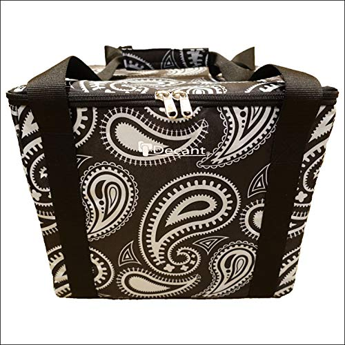DECANT デキャント ポリタンクカバー WATER TANK HOLDER LITE DOUBLE ライト ダブル PAISLEY(BLACK) ブラック ※ポリタンク別売