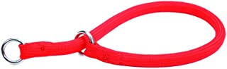Coastal Pet Products Round Nylon Red Choke Collar for Dogs, 3/8 By 18-inch