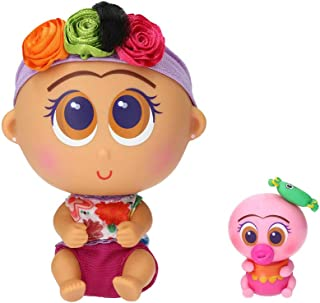 Distroller Nerlie Neonate Baby Frida Kahlo Doll w/ Mini Ksimerito – Special Edition in Spanish
