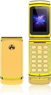 Ulcool F1 Mobiele Telefoon Super Mini Flip Phone 300 mAh Batterij Bluetooth-wijzerplaat Nano Simkaart 2G GSM Mobiele Telef...