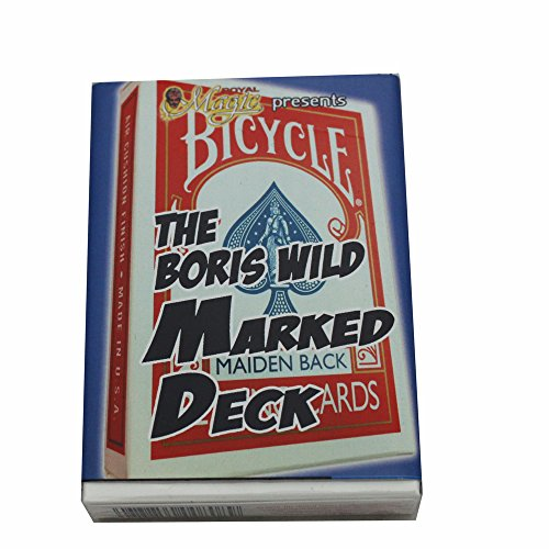 Boris Wild Marked Bicycle Deck (Red) - Quality Magic Trick Marked Pack