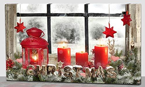 My Home LED-Bild Weihnachten