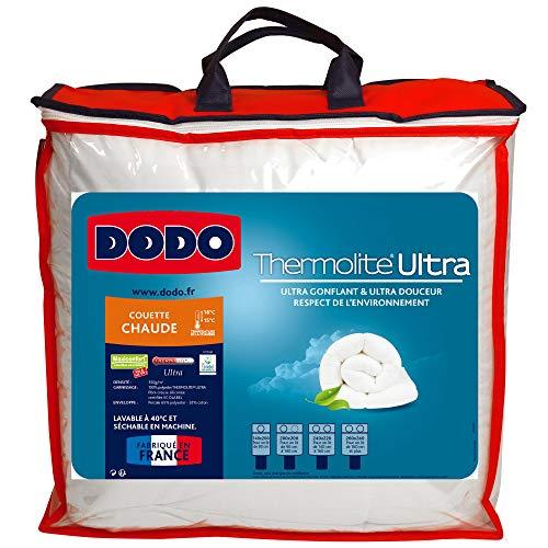 Do Wrap Performance Headwear Dodo, Trapunta imbottita in fibra sintetica, Bianco (weiß), 200 x 200 cm