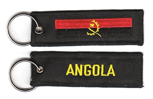 Schlüsselanhänger Angola Anhänger Fahne Flagge NEU