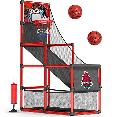 Arcade Basketball Hoop Game by BestKidBall – Basement Toys – Basketball Hoop...