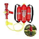 Relaxdays Feuerwehr Wasserspritze, 2,5 l Wassertank, 5 m Reichweite, 2 Sprühfunktionen,...