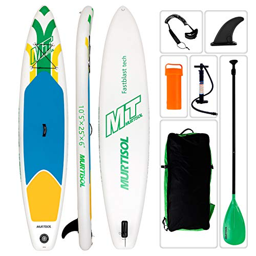Murtisol 10'5'' Inflatable Stand Up Paddle Board(25in Width) for Skilled Person,...