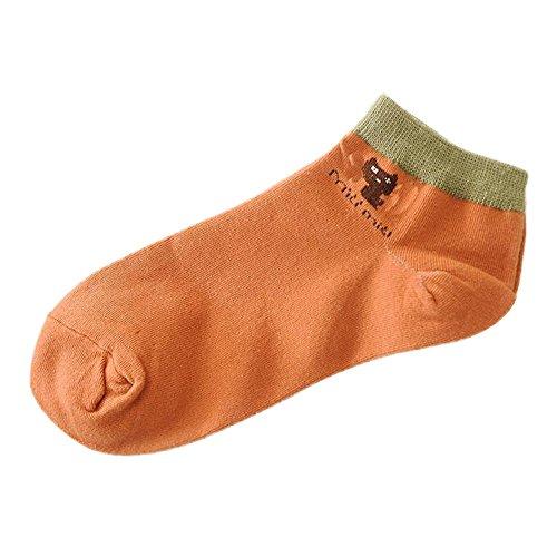 Alikeey Onzichtbare sokken, katoen, ademend, korte sokken voor loafers, boots en ballerina, 55 paar