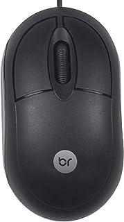 Mouse óptico usb Espanha preto 0106 Bright BT 1 UN