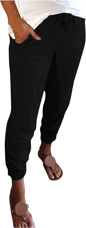 UBST Women's Cotton Sweatpants Lightweight Joggers Pants Drawstr