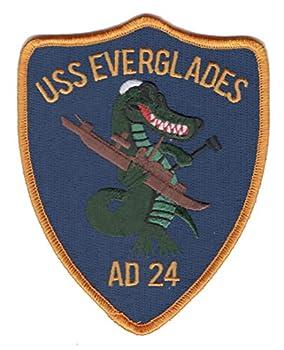 AD-24 USS Everglades Patch