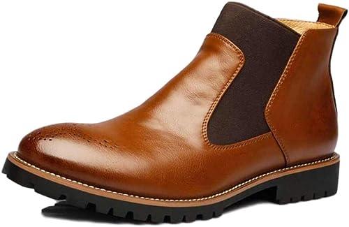 nihiug Dr Marders Stiefel Adult Stiefel Desert Stiefel Classic Leder Winter High-Top Herren Stiefel Werkzeug Stiefelies Herren Lederstiefel