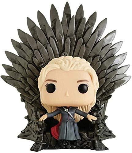 A-Generic Pop Dragón Madre Trono de Hierro Daenerys Targaryen Dany Canción de Tormentas Hielo y Fuego Juego de Tronos Mini Q Versión 5.9 Pulgadas Acción Colección PVC FigurEP PVC
