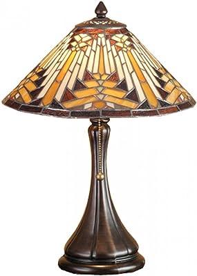 "Meyda Tiffany 66225 Lighting, 18"" Height, Bronze/Dark"