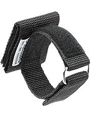 OBRAMO holz-metall - Soporte para guantes de trabajo (extralargo, para guantes de policía, seguridad, uso horizontal, con protección para los tobillos y arena de cuarzo)