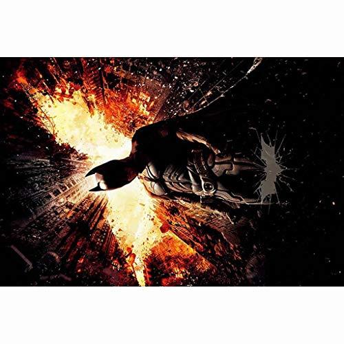 UOPMT-a Batman Jigsaw 300/500/1000 Piece Difficile Adulte Décompression Jouet Manuel for Enfants Casse-tête 0407-P (Color : C, Size : 1000P)