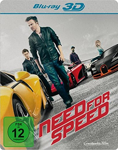 Need for Speed - Steelbook [3D Blu-ray]