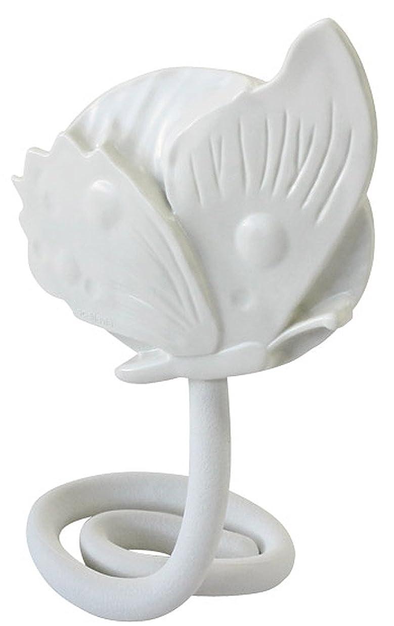 小石朝ごはん時系列八幡化成 フレキシブルミラー sceltevie Grace regina(グレース?レジーナ) papillon(パピヨン) ホワイト