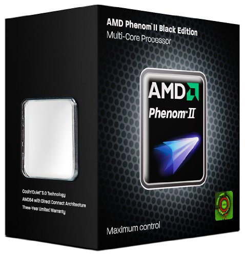 AMD Phenom II X2 550 Prozessor Black Edition (3.1GHz, 1 MB Cache, Sockel AM3; 4.0 GT/s FSB)
