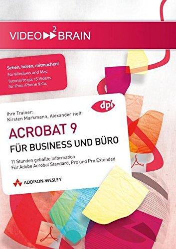 Adobe Acrobat 9 für Business und Büro Video Trainer [import allemand]