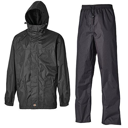 Dickies WP7005 BK Regenschutz-Set Somerton Größe 4XL in schwarz