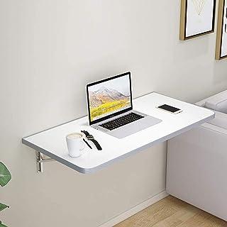 Table pliante attachée au mur, table à manger/table d'ordinateur/bibliothèque d'un petit appartement de la table de foncti...