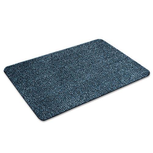 Floordirekt ECOGuard Schmutzfangmatte - Karat - blau, 100x150cm