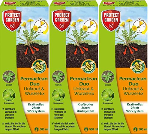 PROTECT GARDEN 3 X 500ml Permaclean Duo