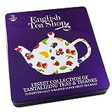 English Tea Shop Teebox aus Metall gefüllt: Teeauswahl